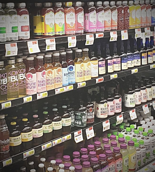 energy efficiency refrigerated beverage case grocery store